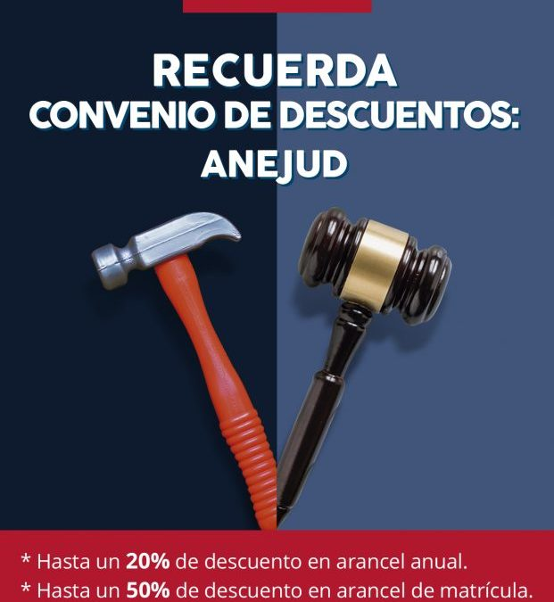 Anejud Chillan y Universidad Pedro de Valdivia firman importante convenio.