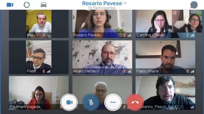 Anejud Chile a través del Grupo de Justicia Abierta de la Corte Suprema participa en reunión con la Red Internacional de Justicia Abierta