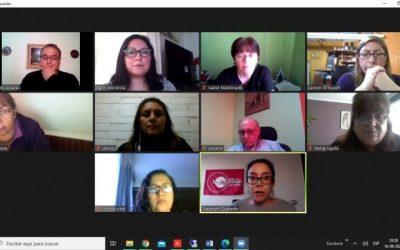 Directorio Nacional de Anejud Chile se reúne para organizar el Consultivo Nacional