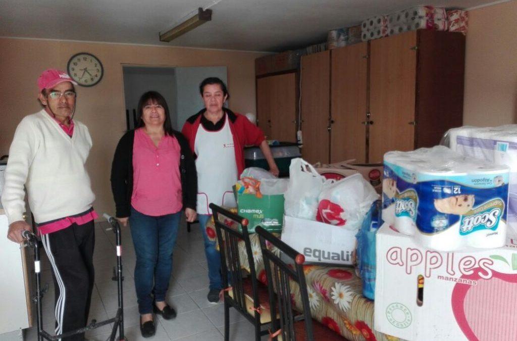 Anejud Regional de Tarapacá realiza ayuda solidaria.