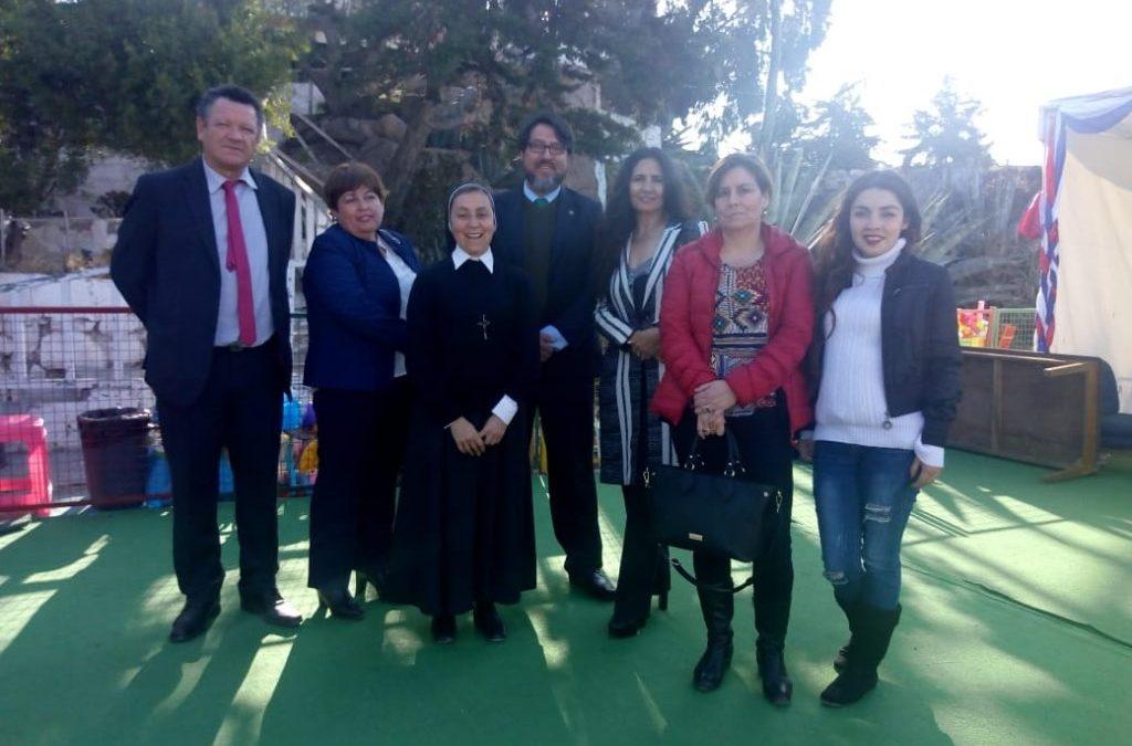 ANEJUD COQUIMBO: Campaña Solidaria y visita a Colegio Santa María del Refugio