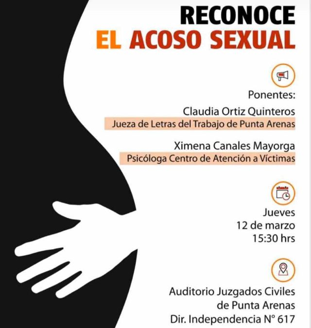 ANEJUD Magallanes invita a Charla en materia de Acoso