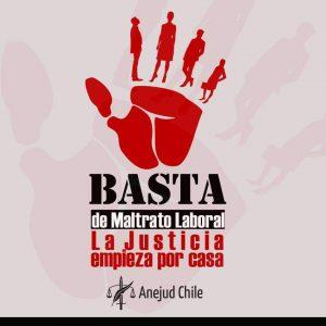 Comité Nacional de Jóvenes de Anejudchile se une al llamado del gremio en contra del maltrato laboral