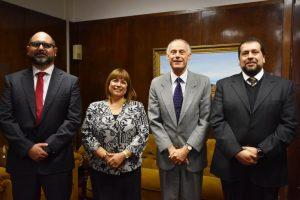 Visita protocolar a Corte de Apelaciones de Valparaiso.
