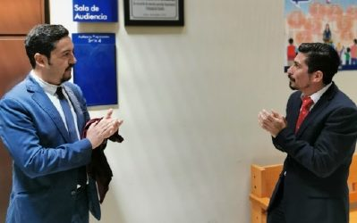 Juzgado de Familia de Arica rinde homenaje a funcionaria judicial fallecida