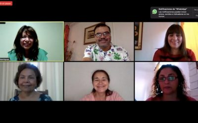 Mediante video conferencia juró el nuevo Directorio de Anejud Arica