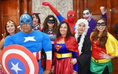 Fantástica participación de funcionarios de ANEJUD Arica en el día del patrimonio cultural