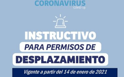 INSTRUCTIVO PARA PERMISOS DE DESPLAZAMIENTO