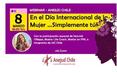 """""""Simplemente tú!"""": ANEJUD realiza taller en el Día Internacional de la Mujer"""